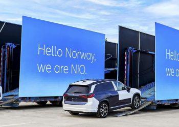 Il produttore di auto elettriche Nio sbarca in Norvegia dalla Cina