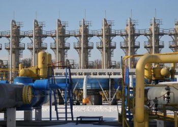 Un impianto di stoccaggio di gas naturale in Ucraina