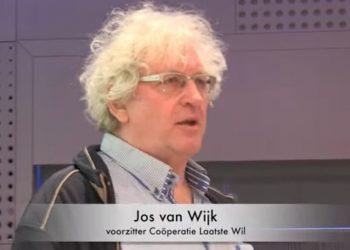 """Jos van Wijk, presidente di Laatste wil (""""L'ultima volontà""""), cooperativa olandese che aiuta i suoi membri a suicidarsi"""