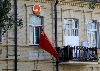 Ambasciata cinese a Vilnius, in Lituania