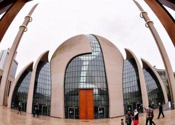 La moschea centrale di Colonia in Germania