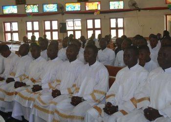 Seminaristi nello Stato di Kaduna, in Nigeria