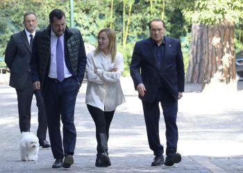 matteo Salvini, Giorgia Meloni, Silvio Berlusconi
