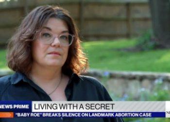 """Dopo decenni di anonimato Shelley Lynn Thornton, figlia di """"Jane Roe"""", ha rilasciato un'intervista alla Abc"""